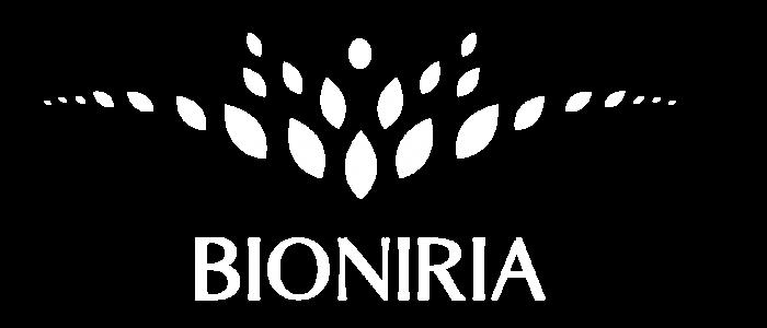 logo bioniria blanc